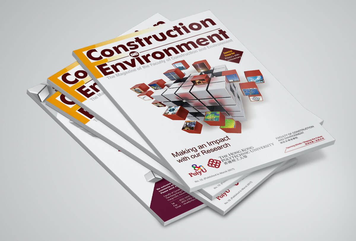 Inmedia Design: Faculty of Construction and Environment-Regular Magazine designMagazine design