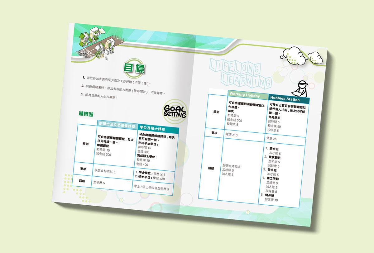 Inmedia Design: Mind Way My Way Life Planning Program Brochure-Plan promote brochures design