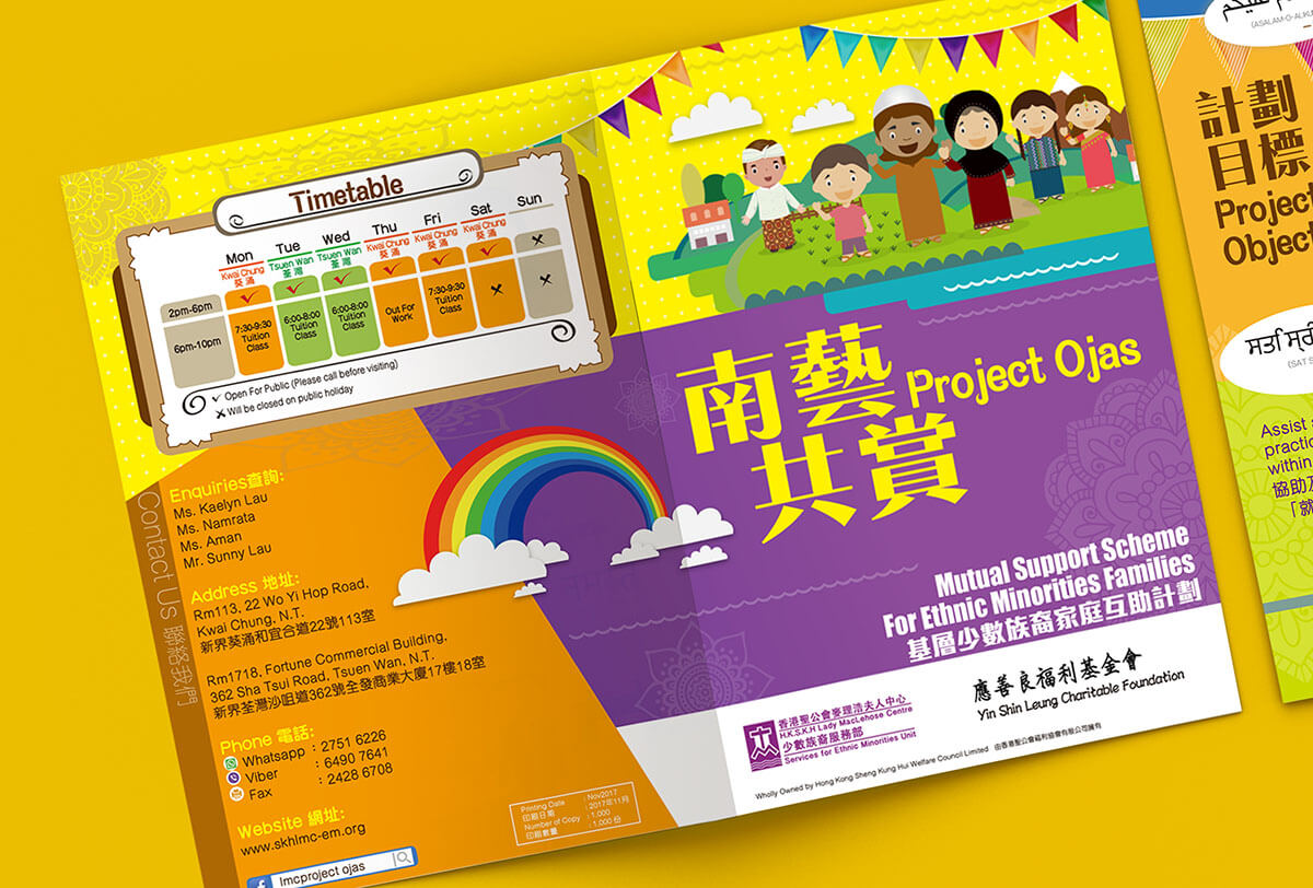 Inmedia Design: Project Ojas Booklet Design-Employment planning books illustrations