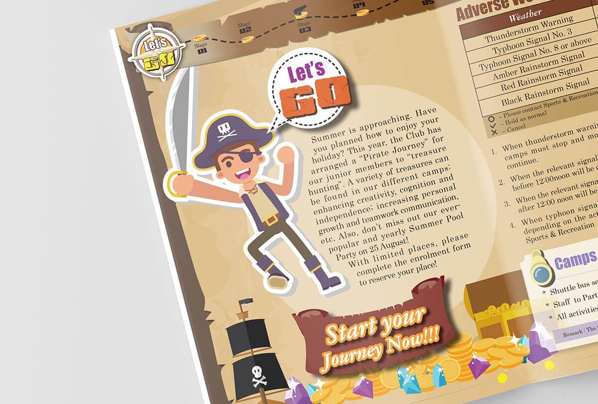 Inmedia Design: Treasure Hunting Summer Program -Activity theme book